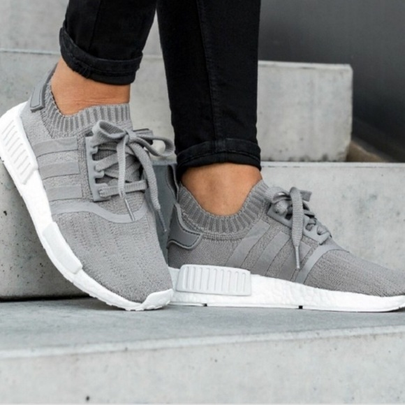 Adidas NMD_R1 PK Women's Grey Sneakers NWT NWT